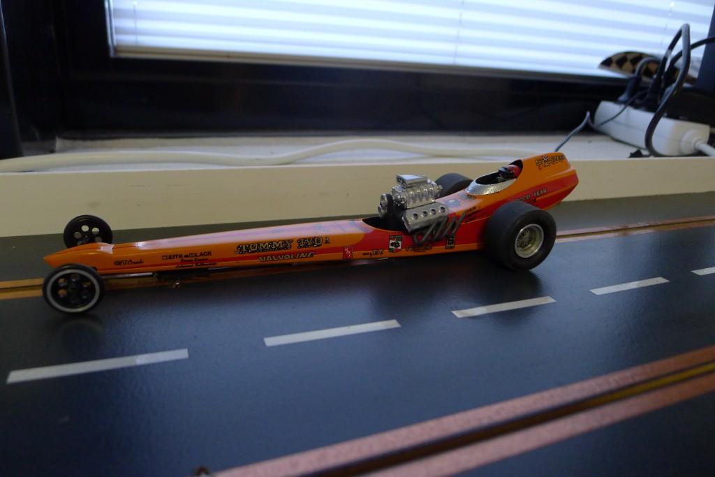 Niels's vilde dragster  kørte 1,12 sec.